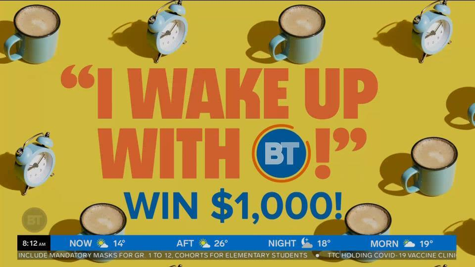 I Wake Up with BT
