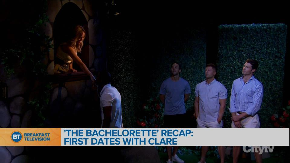 'The Bachelorette' recap: First dates with Clare