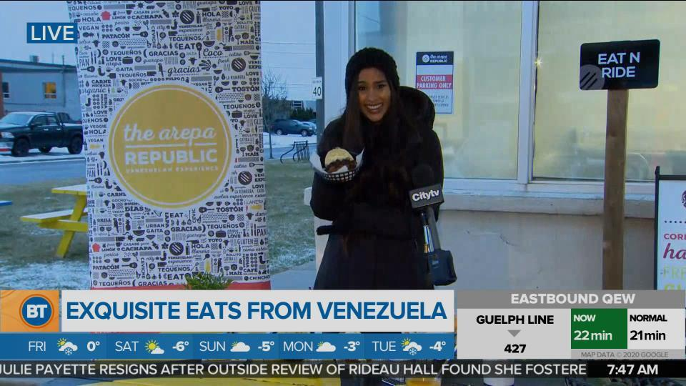 Foodie Friday: The Arepa Republic