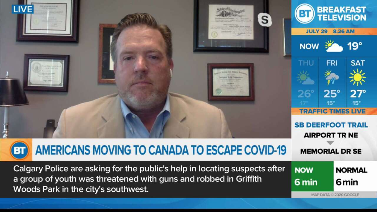 Americans moving to Canada to escape COVID-19
