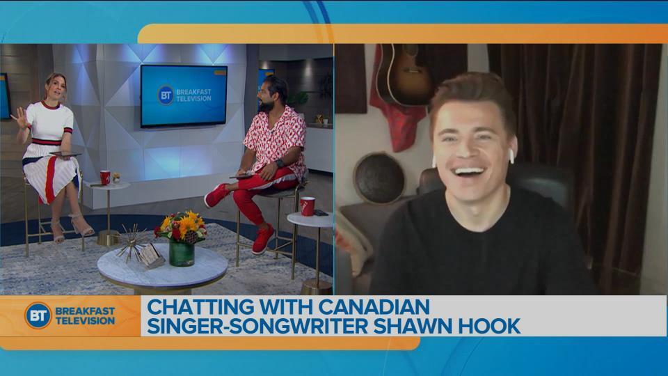 Chatting with Canadian singer-songwriter Shawn Hook