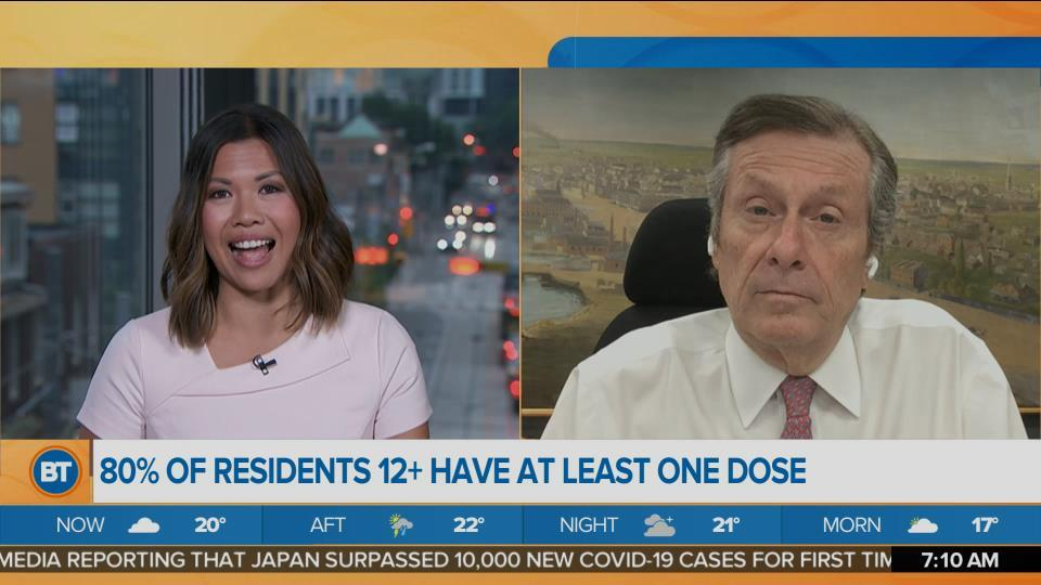 Mayor John Tory on Vaccine Rollout