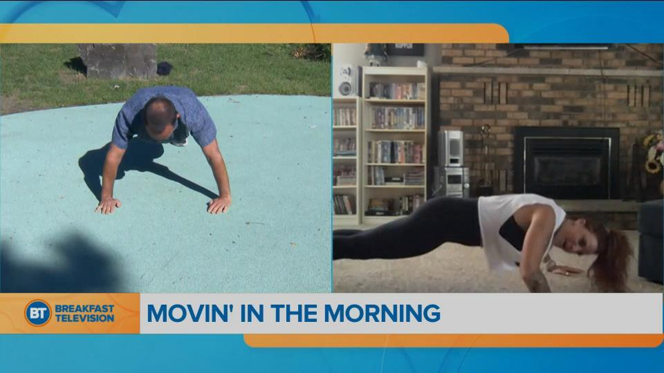 Movin' in the Morning: the perfect morning workout