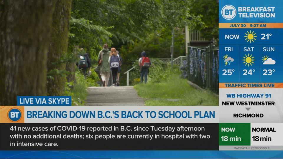Breaking down B.C.'s back to school plan