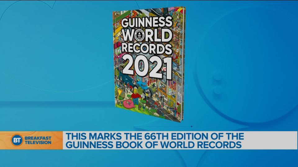 This marks the 66th edition of the Guinness Book of World Records