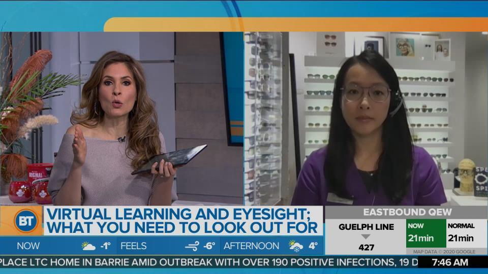 The Impact of Virtual Learning on Children's Eyesight