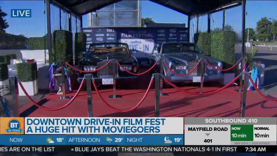 Lavazza Drive-In Film Fest!