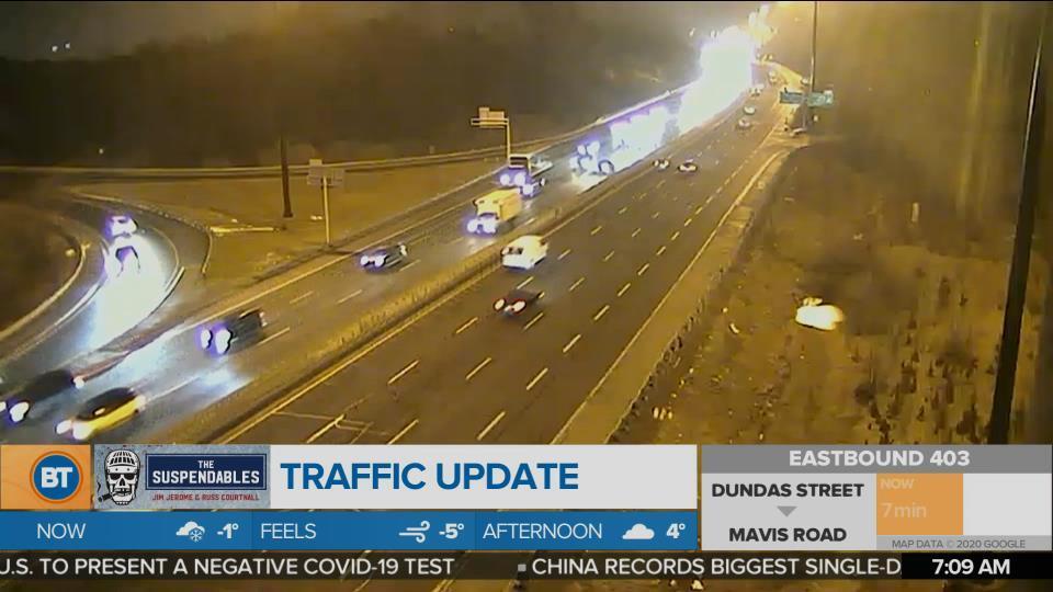 BT Traffic @ 7:00am!