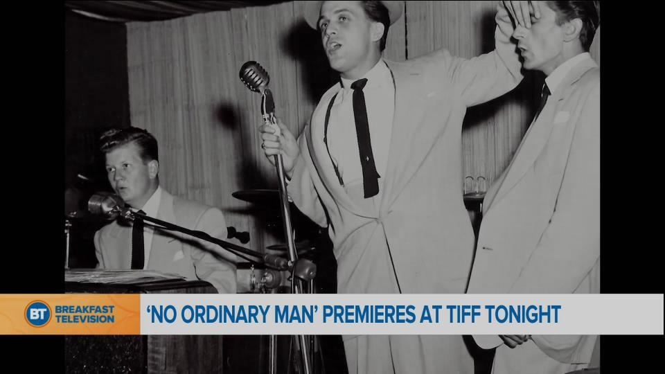 'No Ordinary Man' premieres at TIFF tonight
