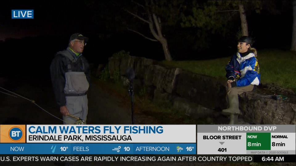 Nicole is LIVE at Calm Waters Fly Fishing (1 of 5)