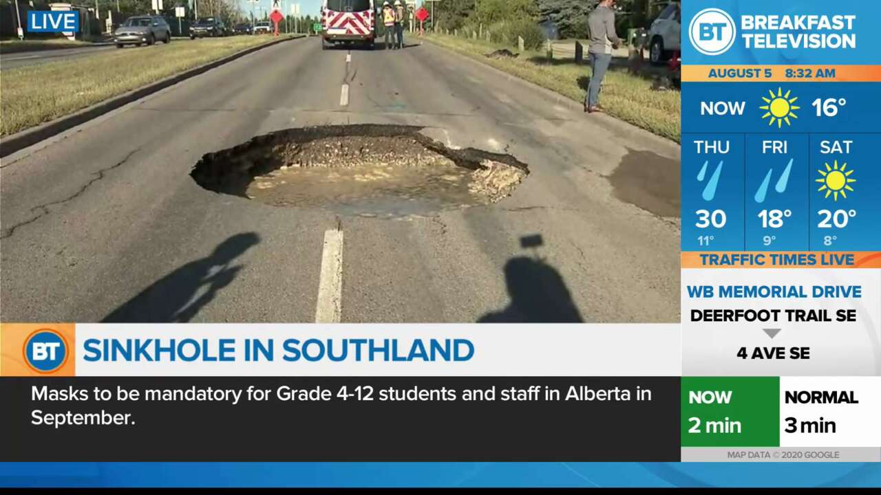 On Location: Sinkhole in Southland