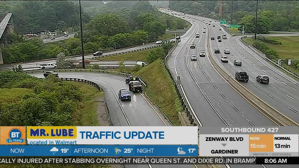 BT Traffic @ 8am!
