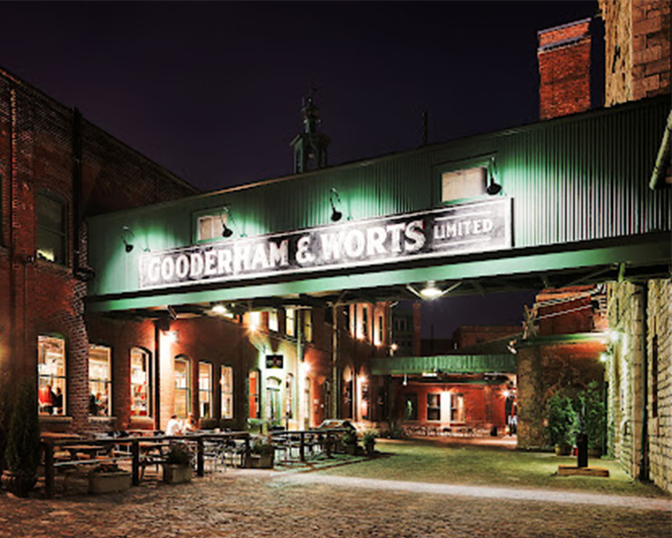 Is the Distillery District haunted?