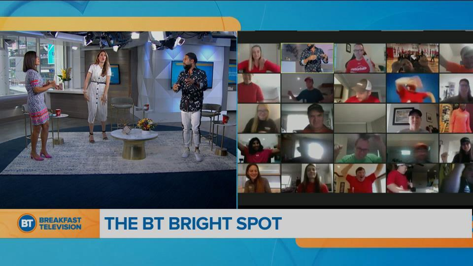 BT Bright Spot: 'Motionball Marathon of Sport'