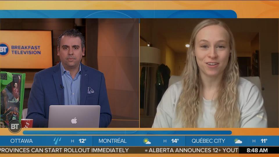 Olympic Gymnast Ellie Black Talks About Partnership With Sobeys