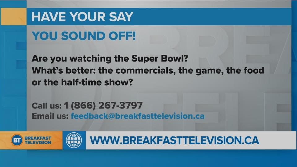 Are You Watching the Super Bowl?