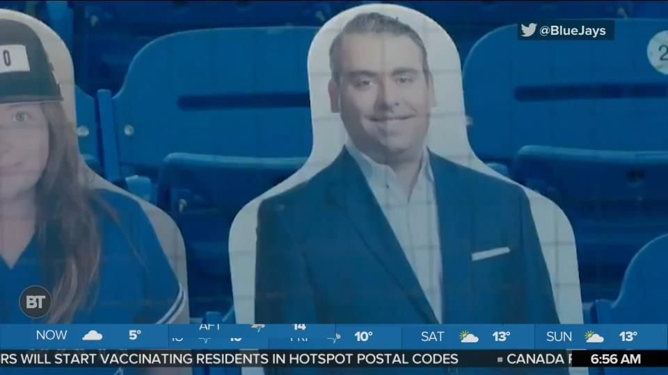 Sid Was Spotted at Yesterday's Blue Jays Game