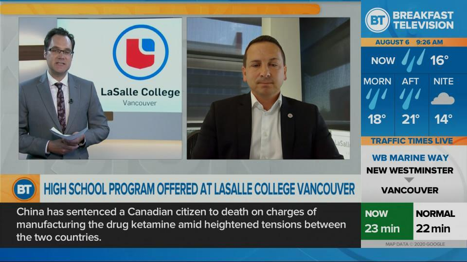 Dr. Jason Dewling of LaSalle College Vancouver High School !