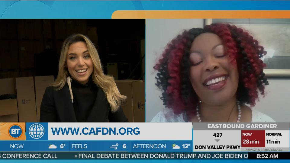 Nicole is LIVE with Children's Aid Foundation of Canada (4 of 4)