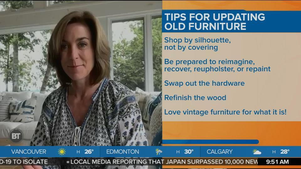 Turning Dated Furniture into Chic and Modern Pieces