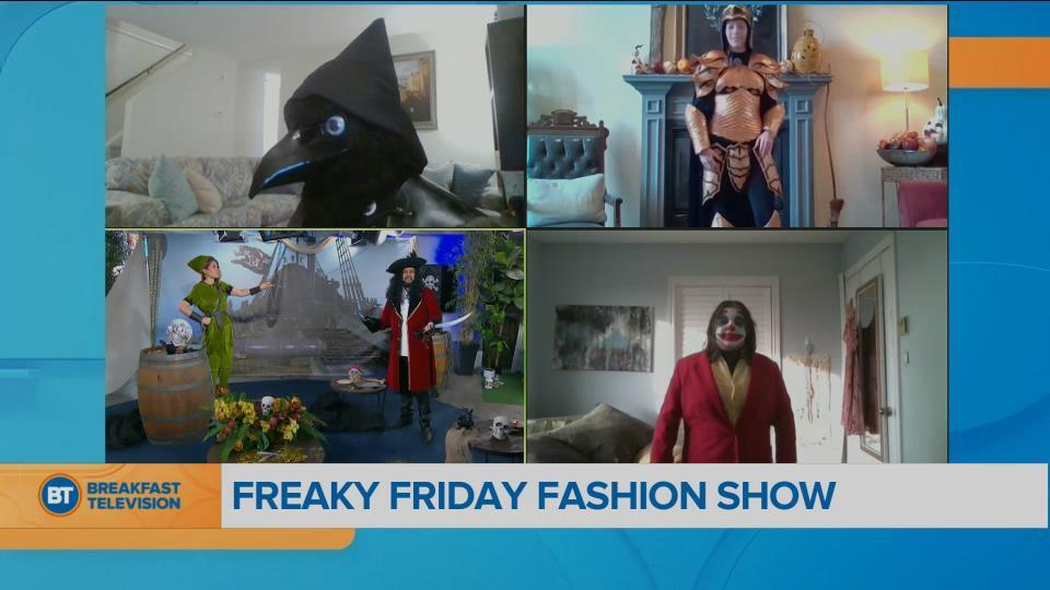 Freaky Friday Fashion Show!