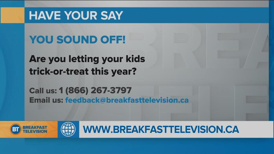 National Sound Off: Will your kids be trick-or-treating?