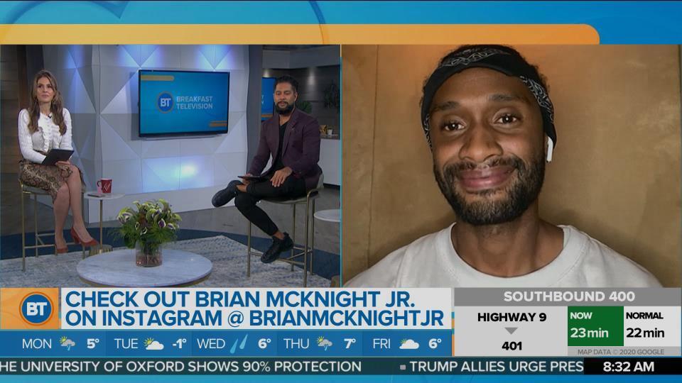 Chatting with Brian McKnight Jr.