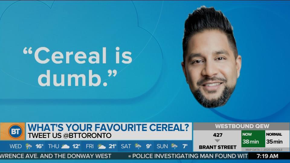 Tweet sparks cereal debate online