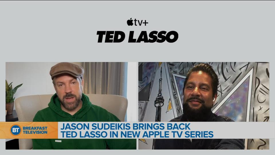 Jason Sudeikis brings back Ted Lasso in new Apple TV+ series