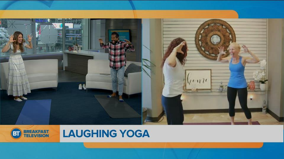 Movin in the Morning : Laughing Yoga