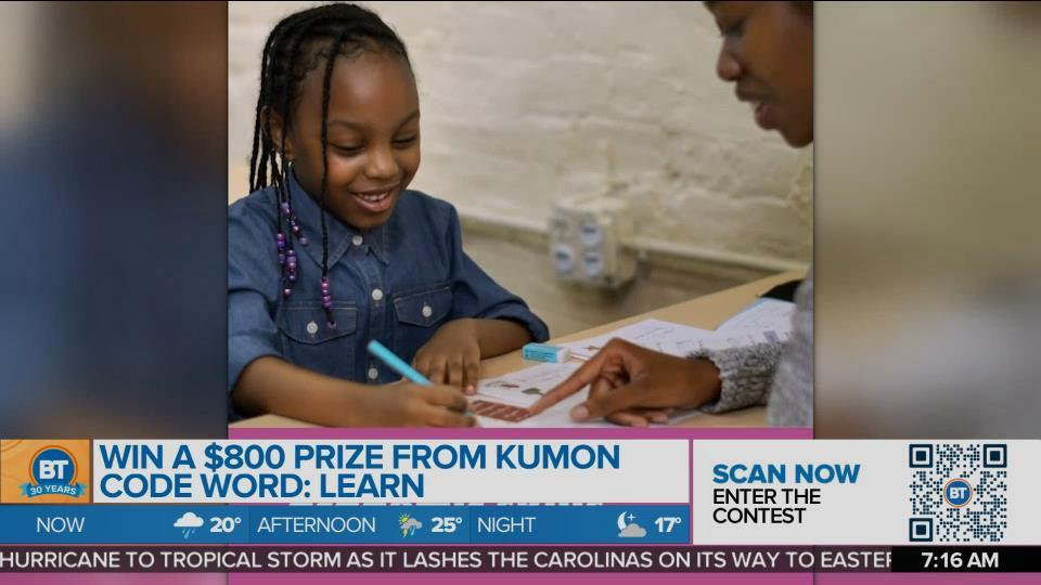 Summer Swag Spectacular: Kumon!