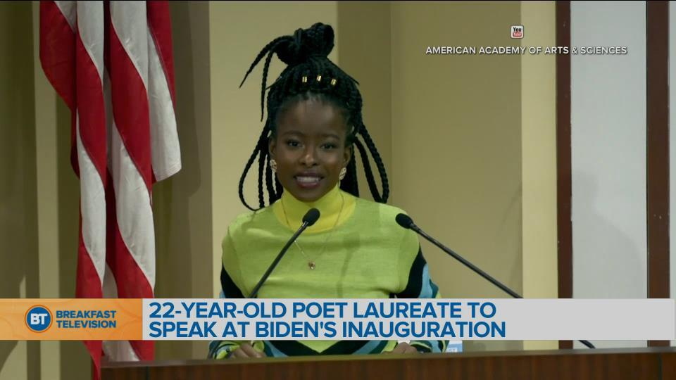 BT Bright Spot: The United States' National Youth Poet Laureate Amanda Gorman