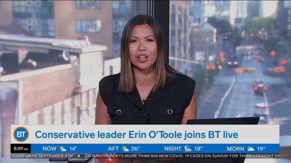 Mel is joined by Conservative Leader, Erin O'Toole