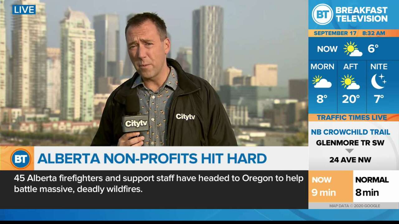 On Location: Alberta Non-Profits hit hard