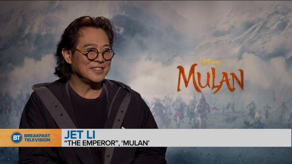 Chatting with the stars of Disney's live-action 'Mulan'! (2 of 2)