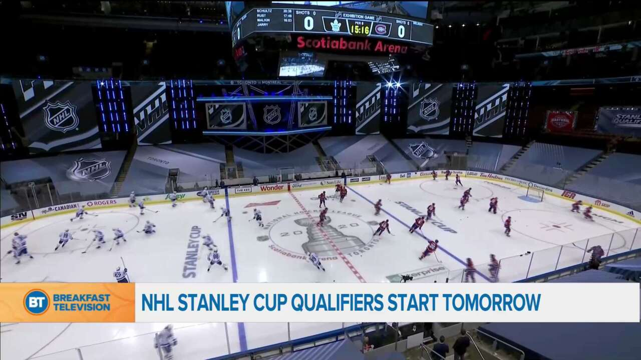 NHL stanley cup qualifiers start tomorrow