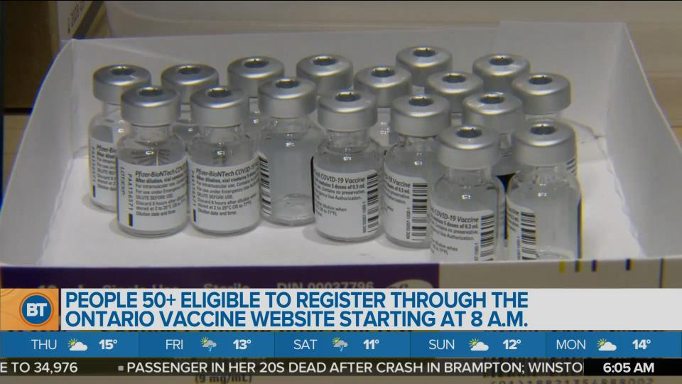 Morning Headlines: Vaccine eligibility expanding, Pfizer approved for 12+, - CityNews Toronto