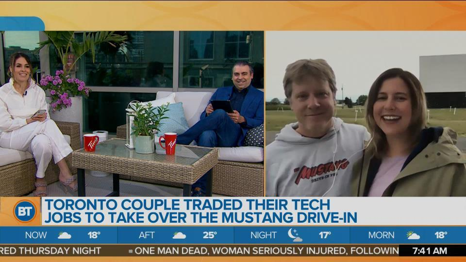 Toronto Couple Traded Tech Jobs to Take Over Drive-In