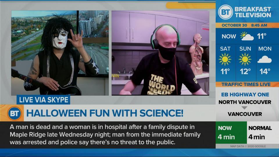 Halloween fun with science!