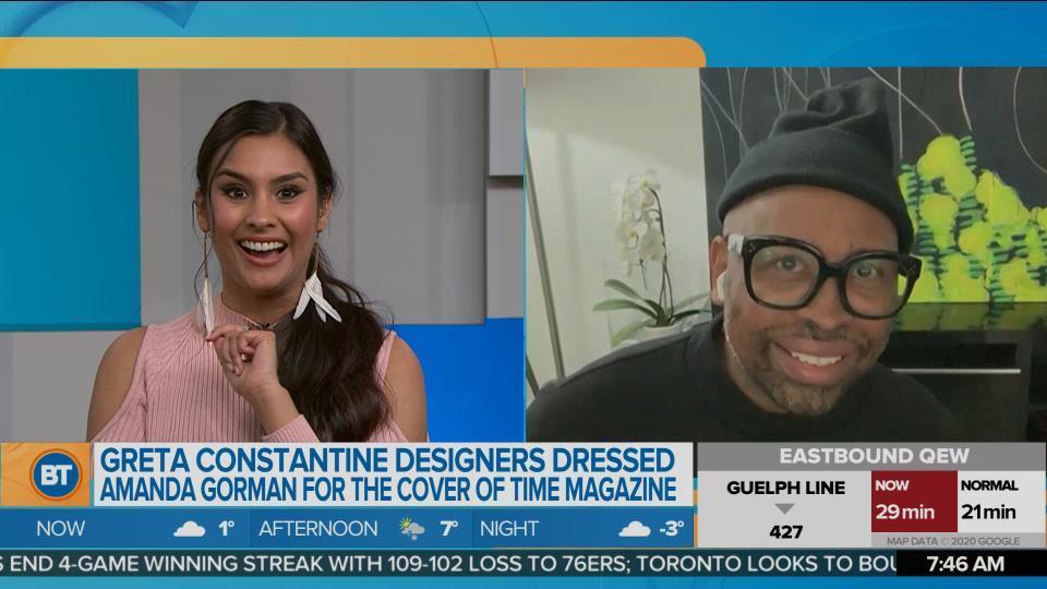 Canada's Own Designer of Greta Constantine Dressed Amanda Gorman for TIME Magazine Cover