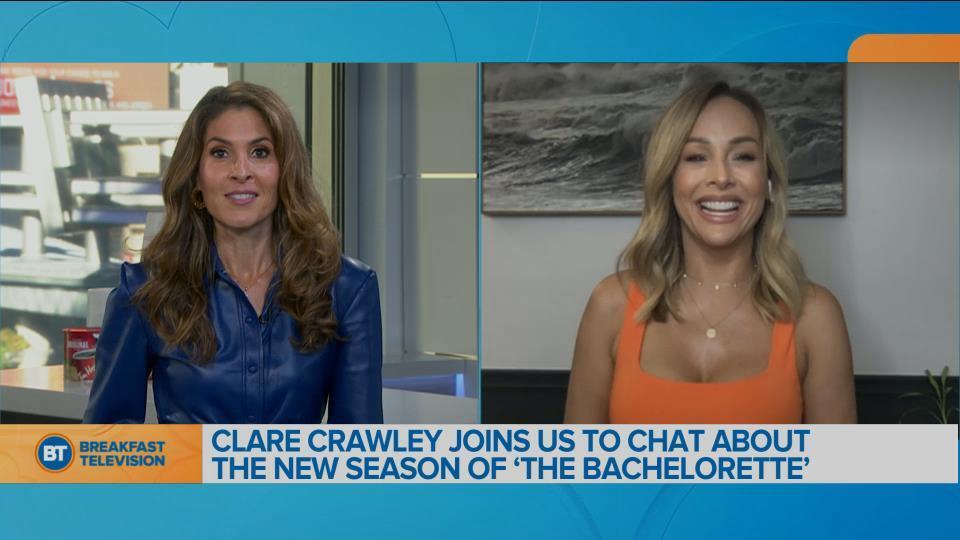 Bachelorette Clare Crawley joins us ahead of tonight's season premiere of 'The Bachelorette'