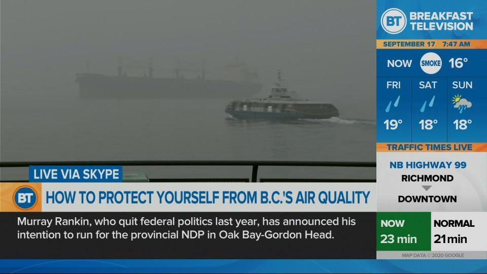 Protecting yourself from B.C.'s air quality