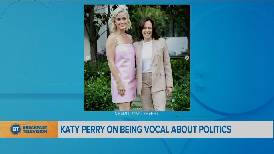 Katy Perry on being vocal about politics