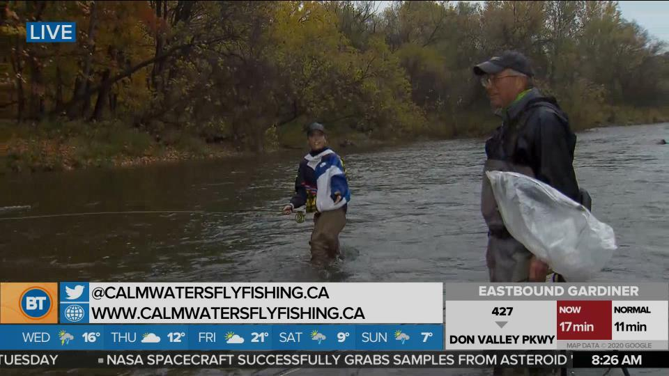 Nicole is LIVE at Calm Waters Fly Fishing (4 of 5)
