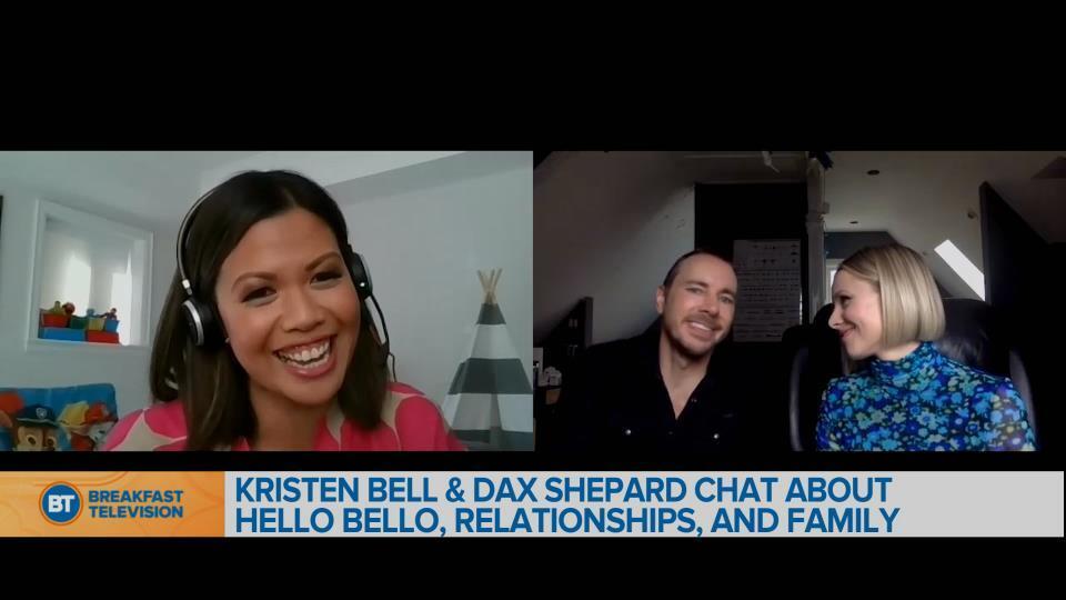 Chatting with Kristen Bell & Dax Shepard
