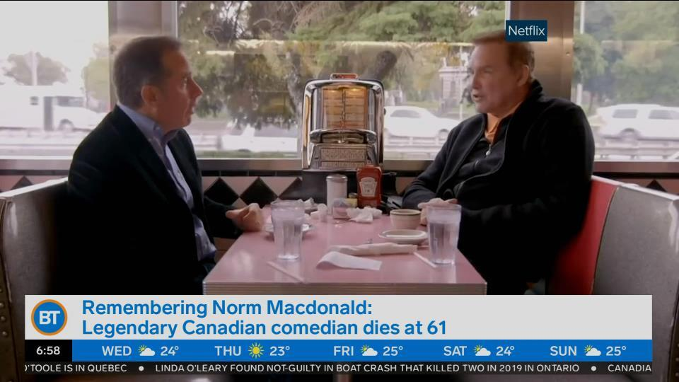 Remembering Norm Macdonald: Legendary Canadian comedian dies at 61
