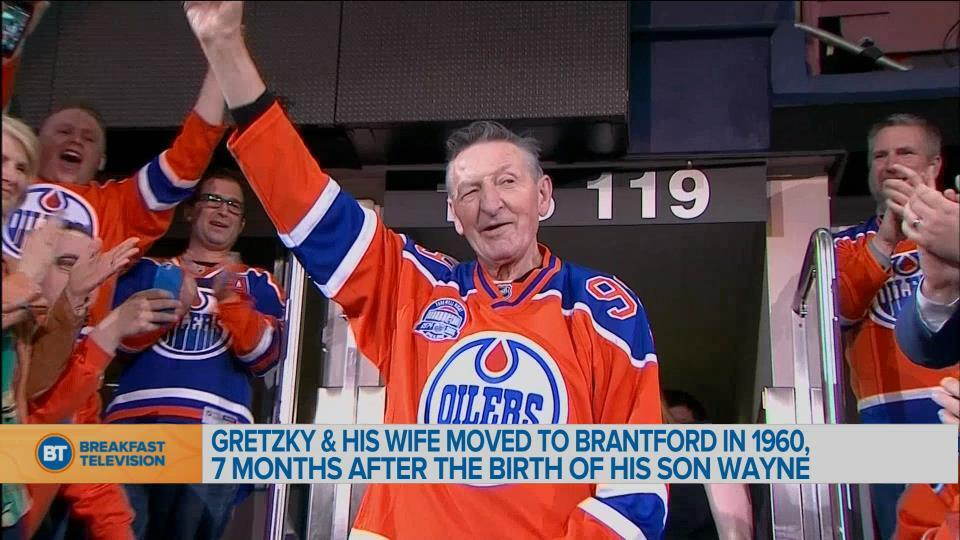 Brantford Mayor Remembers Walter Gretzky From His Hometown