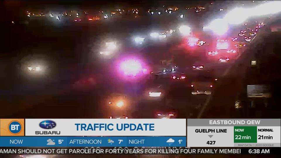 BT Traffic @ 6:30am!