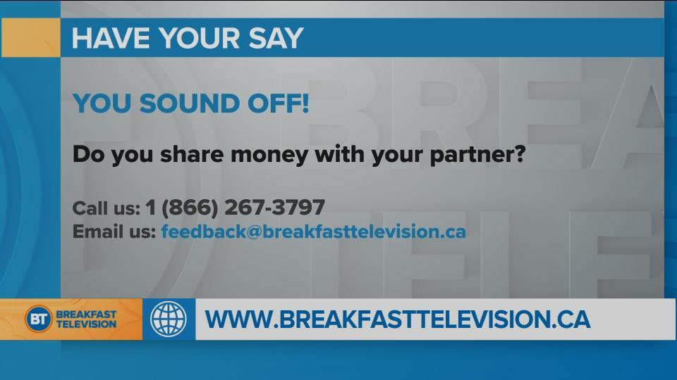 National Sound Off: Do You Share Money With Your Partner?