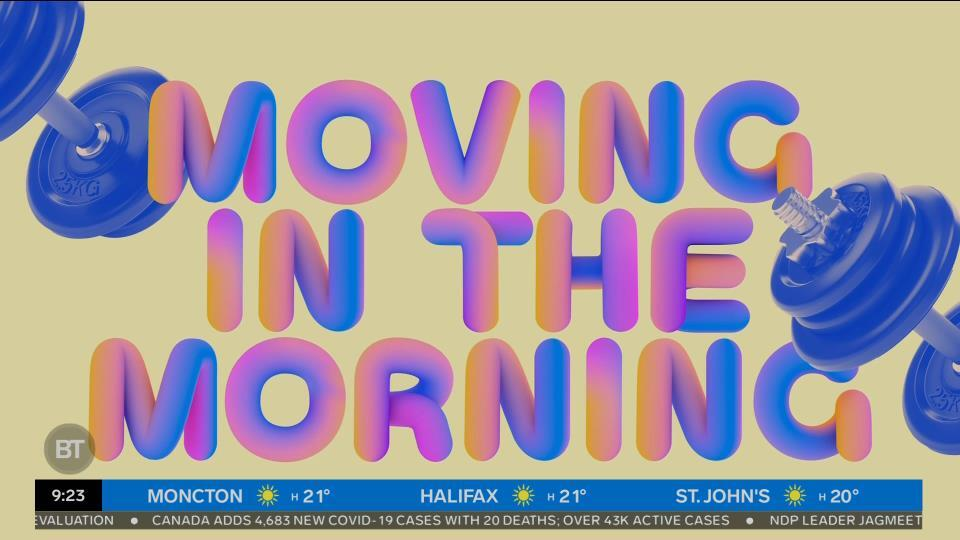 Movin' in the Morning: Exercise variations